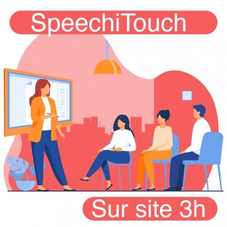 Formation sur site pour votre écran interactif SpeechiTouch (3h)