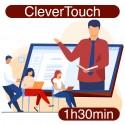 Formation avancée à distance de votre écran interactif CleverTouch (1h30)