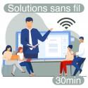 Formation à distance de prise en main des solutions sans fil Speechi (30 mn)