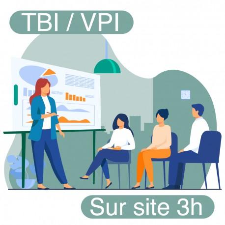 Formation TBI / VPI / écran interactif