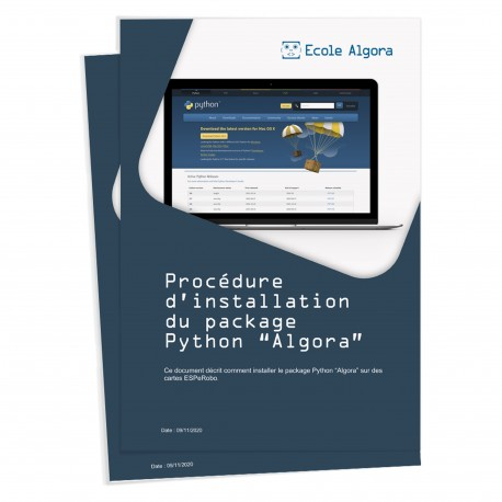 Guide animateur Algora (cursus adultes) : Guide d'installation du package Algora