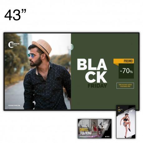 """Ecran d'affichage dynamique 4K CM Series - 43"""""""