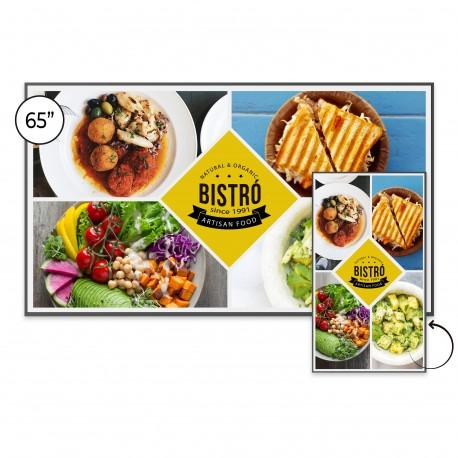 Ecran d'affichage Android SpeechiDisplay UHD 65''