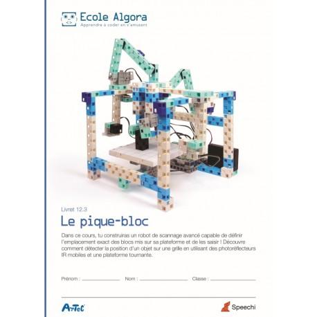 Livret élève Algora 12.3 : Le pique-bloc