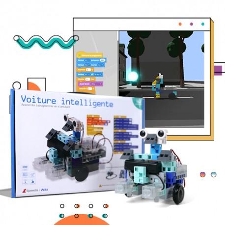 Inscription à la plateforme de jeu vidéo + 1 kit robotique Voiture intelligente (concours offert)