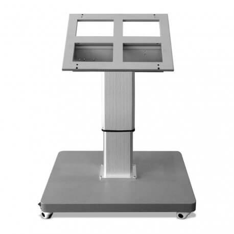 Support mobile motorisé pour écran orientable et ajustable en hauteur