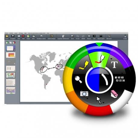 Licence monoposte eBeam pour windows à installer (achetée  avec un écran interactif)