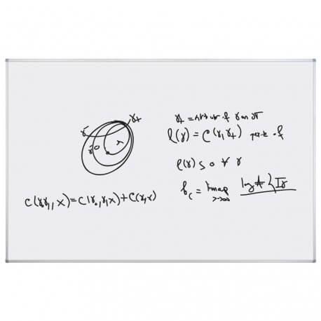 Tableau Blanc 122x200cm mat non magnétique