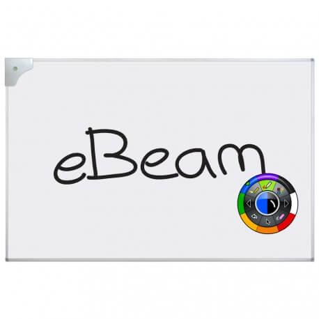 tableau interactif fixe ebeam projection 122 x 180 cm