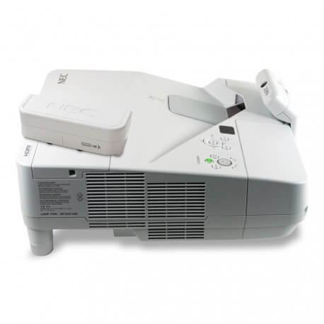 Vidéoprojecteur interactif tactile à ultra-courte focale Nec UM301Wi (multitouch)