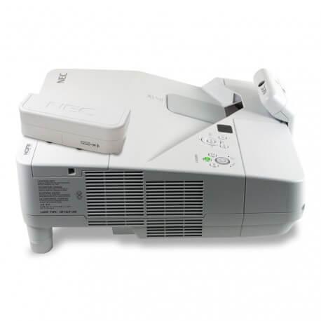 Vidéoprojecteur interactif ultra-courte focale Nec UM351Wi - multitouch