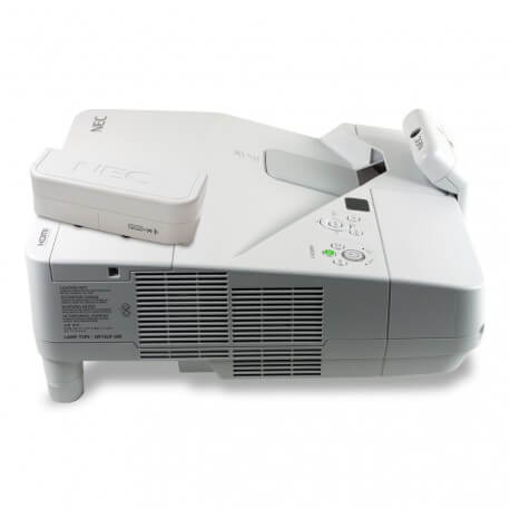 Vidéoprojecteur interactif ultra-courte focale Nec UM301Xi - multitouch