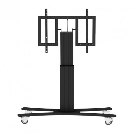 Mobile Conen support for interactive screen, height adjustable and tiltable