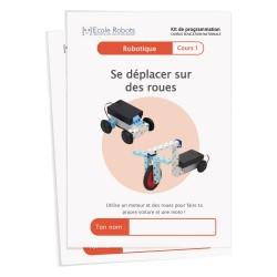 Cours 1 de robotique : Se déplacer sur des roues - Cursus Éducation nationale
