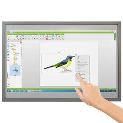 Interactief whiteboard met touchscreen, 10 contactpunten