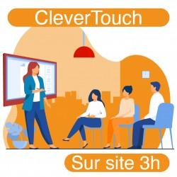 Formation sur site pour votre écran interactif CleverTouch (3h)