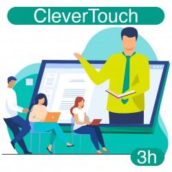 Formation expert à distance de votre écran interactif CleverTouch (3h)