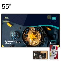 """Ecran d'affichage dynamique 4K CM Series - 55"""""""