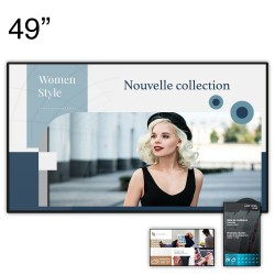 """Ecran d'affichage dynamique 4K CM Series - 49"""""""