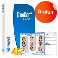 Logiciel de visioconférence TrueConf Server - version gratuite - 5 utilisateurs