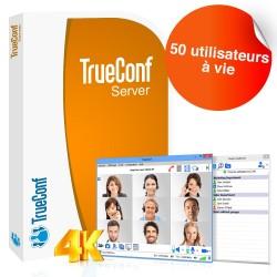Logiciel de visioconférence TrueConf Server - 50 utilisateurs - à vie