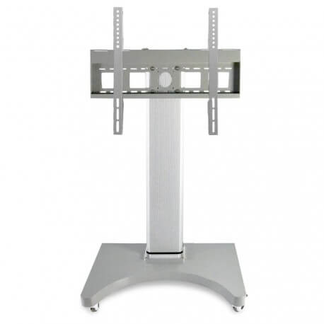 Motorized mobile support for a height-adjustable screen