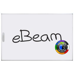 fixed interactive board with eBeam technology (IWB)