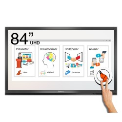 Ecran interactif tactile Android Windows SpeechiTouch Pro UHD - 84