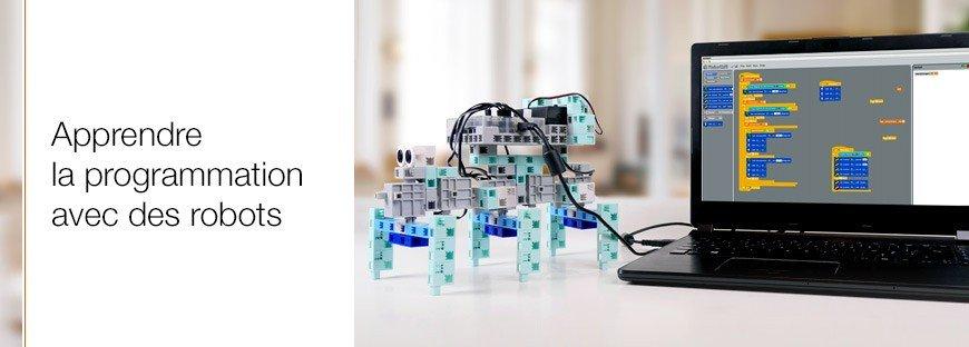 apprendre à programmer avec des robots
